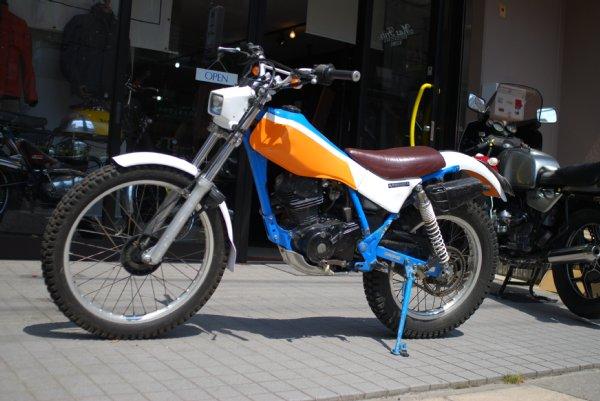 ホンダTL125