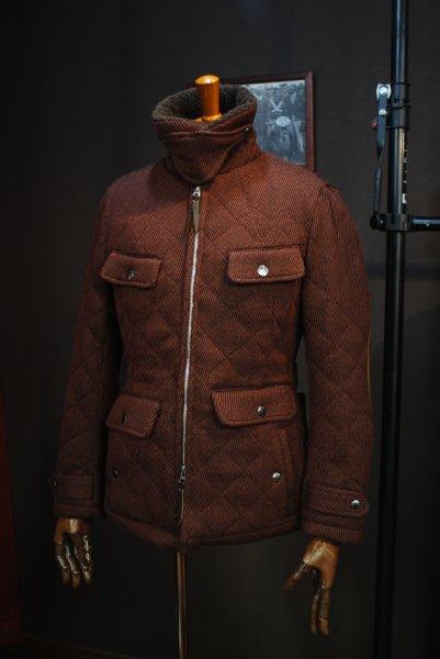 MFB-1830 フランス綾キルトジャケット