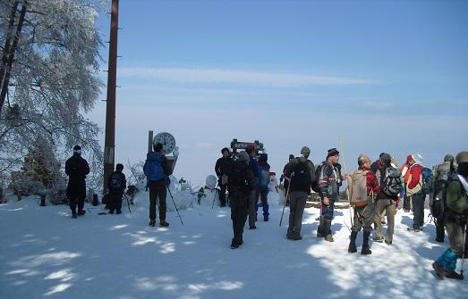 7 金剛山1125m・頂上展望台