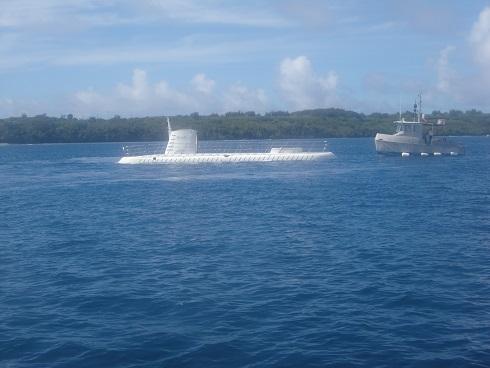 5 潜水艦に乗る