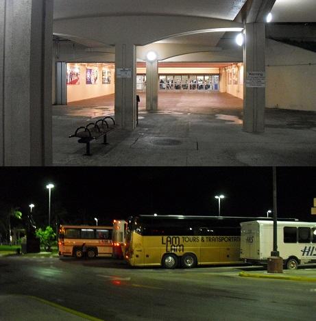 5 深夜のグアム国際空港