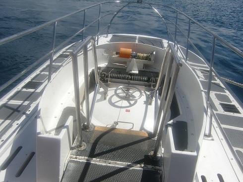 6 潜水艦の艦尾入口