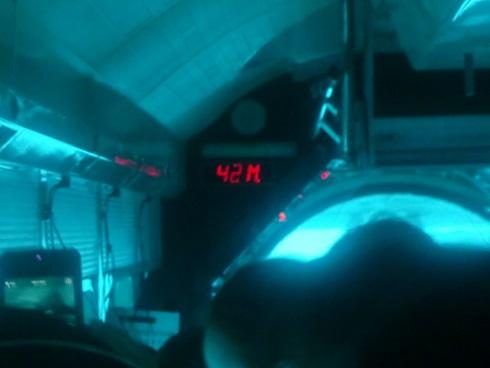 17 水深42m