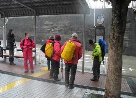 2 阪急芦屋川のバス停