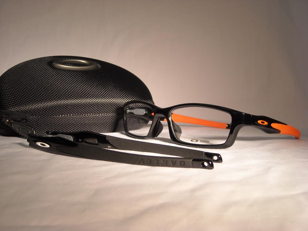 オークリークロスリンク 品番:OX8029-0956 カラー:POL BLK /ORANGE サイズ:56ミリ