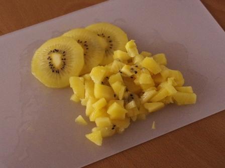 ゴールドキウィのパウンドケーキ01
