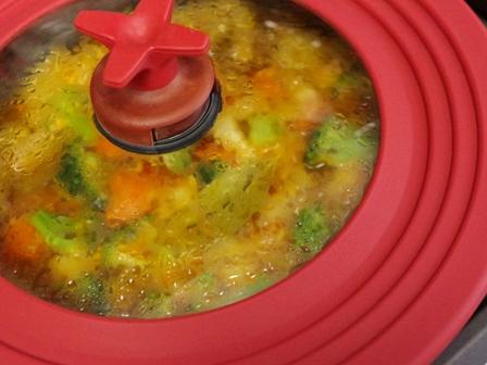 鶏肉の豆乳カレー煮03