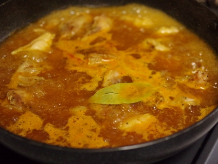 鶏肉の豆乳カレー煮02