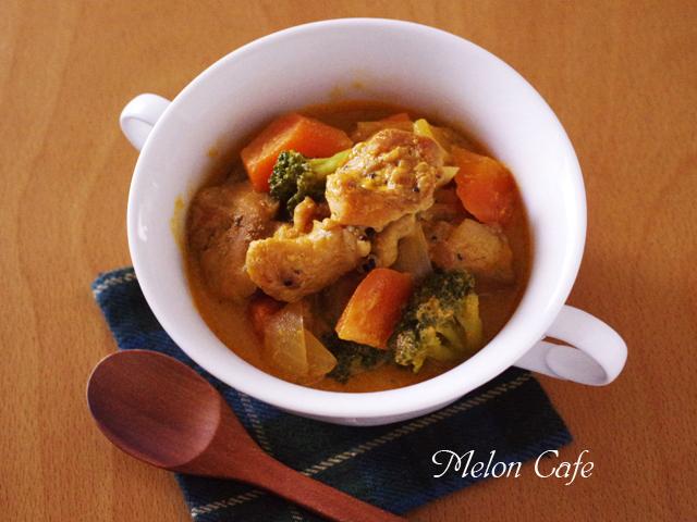 鶏肉の豆乳カレー煮06
