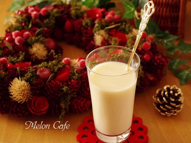 豆乳と甘酒のスペシャルドリンク