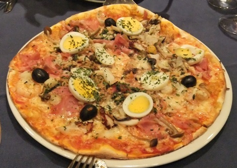 盛りだくさんピザ