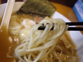 魚介とんこつらーめん晴れ空 らーめん(麺)