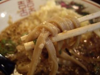 雀鬼蕎麦 山嵐 背脂地獄(麺)