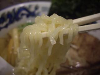 らーめん逍遙亭 塩麺(麺)
