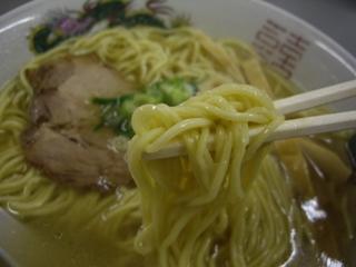 まるたかラーメン かつお塩ラーメン(麺)-006