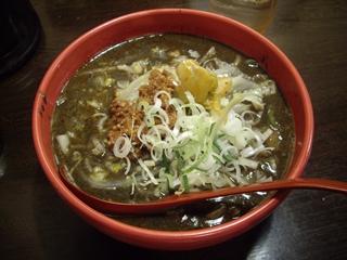 四川麺家 龍の子 四川黒ゴマ坦々麺-012