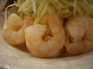 拉麺屋 野菜のポタージュつけ麺(エビ)
