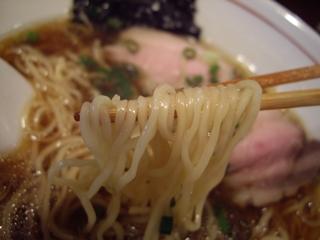 麺屋KABOちゃん しもふり中華そば(麺)