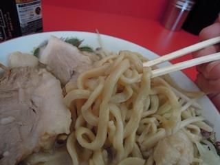 _ラーメン二郎_札幌店 ラーメン(麺)