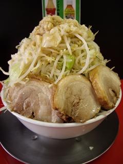 びんびん豚_ラーメン(中)+豚