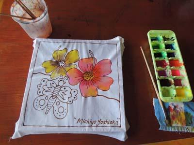 batik painting tochu