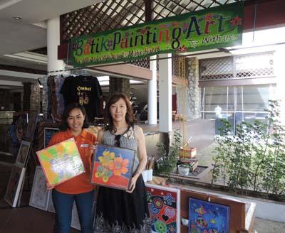 batik painting asa