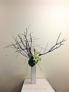 オーストラリアで生け花