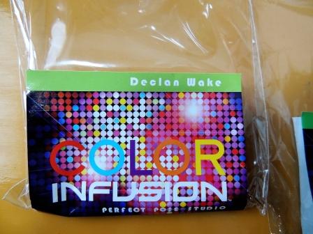 color infusion の アダム と イヴ