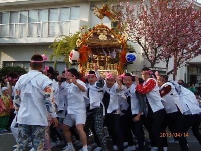 H.25.4.14羽村桜祭り12
