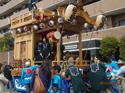 H.25.4.14羽村桜祭り9