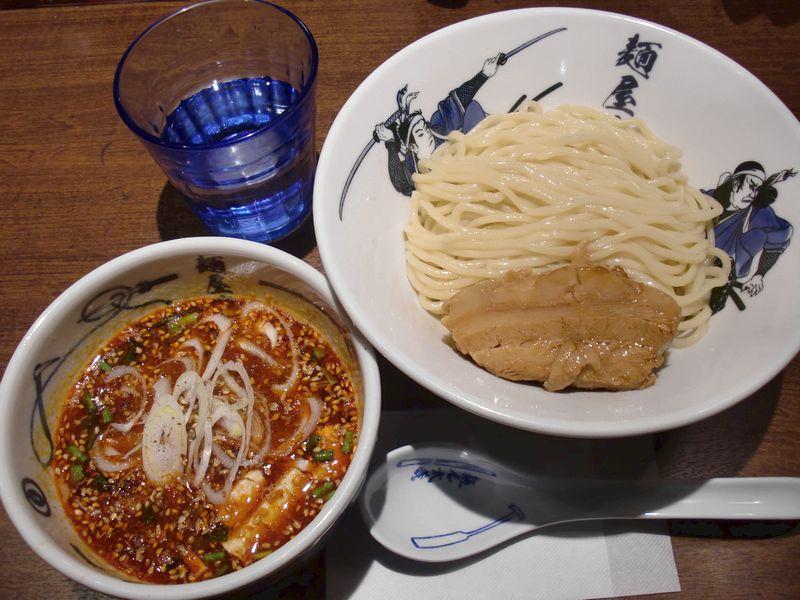 武蔵@田町・20141105・芝辛つけ麺