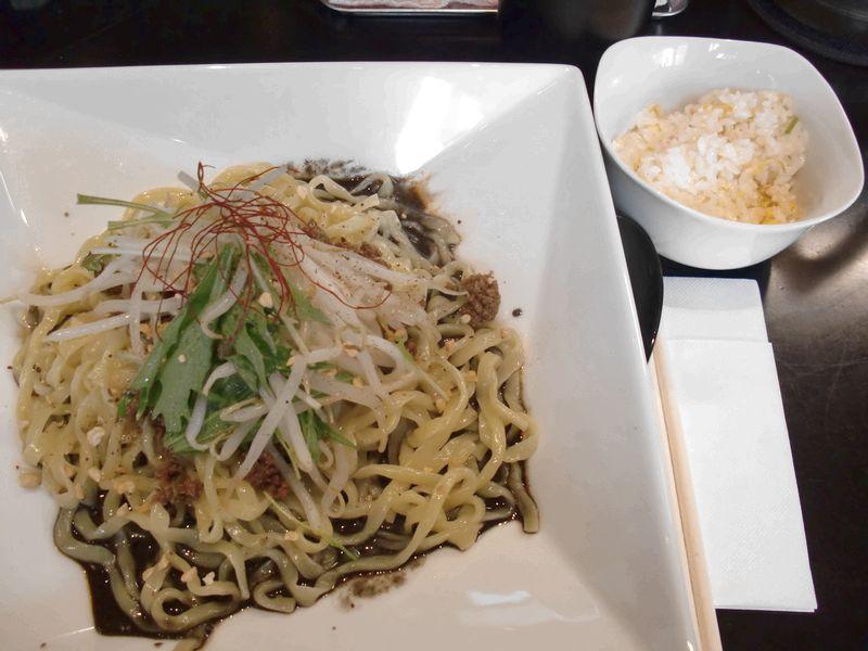 黒蠍@四谷三丁目・20141130・汁なし黒担担麺