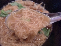 台湾麺線@御成門・20141209・麺&スープ