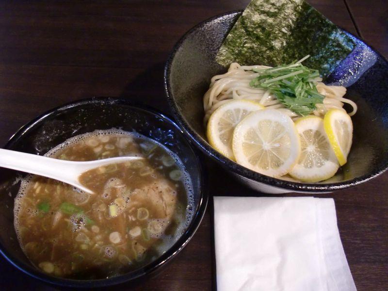 スージーハウス@四ツ谷・20141214・レモンつけ麺