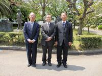 2013.4.26 井川香四郎さんと2