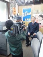 2013.4.25 アイテレビの取材
