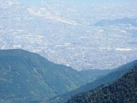 銅山越えからの眺望