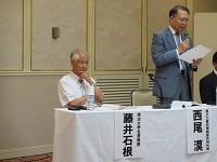2013.8.8 藤井先生、西尾漠さん