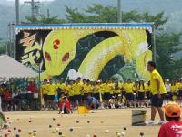 2013.9.10 新居浜東高校運動会。玄武
