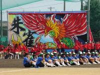 2013.9.10 新居浜東高校運動会。朱雀