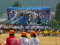 2013.9.10 新居浜東高校運動会。白虎