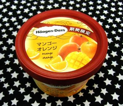 『ハーゲンダッツ』のマンゴーオレンジ