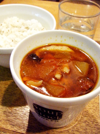 『Soup Stock Tokyo(スープストックトーキョー)』のトマトと冬瓜の火鍋スープ