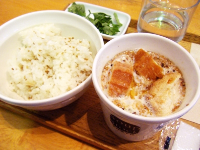 『Soup Stock Tokyo(スープストックトーキョー)』の豆漿(台湾風豆乳スープ)