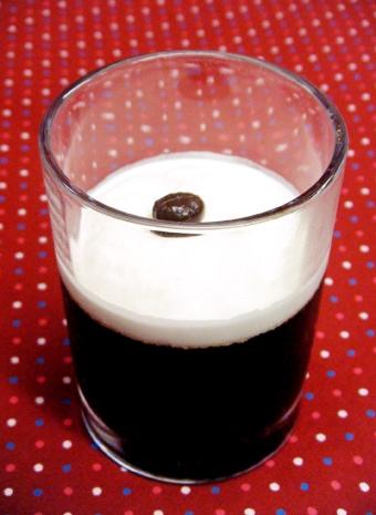 『シェ・トラ』のマスターのコーヒーゼリー
