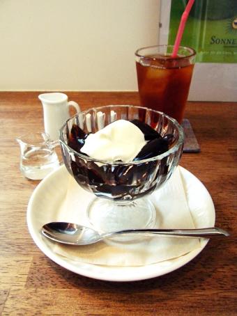 『Cafe anselmo(カフェアンセルモ)』のコーヒーゼリー