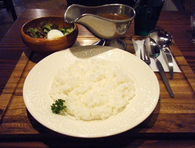 『old cafe ときの木』のときの木カレー