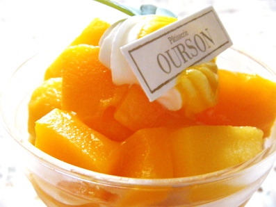 『ウルソン』のマンゴーパフェ