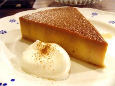 『old cafe ときの木』のかぼちゃプリン