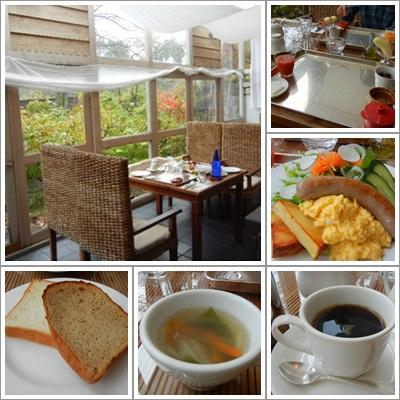 渓山荘朝食